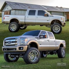 I honestly enjoy this colouring scheme for this lifted ford Lifted Chevy Trucks, Big Rig Trucks, Gmc Trucks, Pickup Trucks, Ford F250 Diesel, Diesel Trucks, Ford F650, Ford 4x4, Yin Yoga