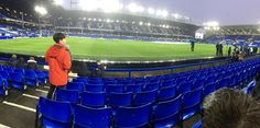 Everton Football Club, Liverpool - 'Great seats for anyone struggling to walk distances.'