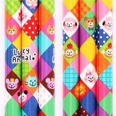 colorful animal diamond pattern pencil from Japan