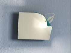 Applique à LED en métal enduit SPRING - FLORIAN