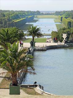 Le grand canal - Château de Versailles
