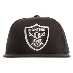 Rebel8 Eighters black snapback cap - Hats - Clothing | Manchester's Premier Skateboard Shop | NOTE Skate Shop Manchester