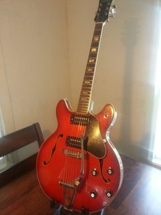 Lyle Semi Hollow guitar