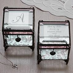 Glass Keepsake Box
