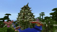 Minecraft - Isle Kakawa Long time no see, heh ? Well, i wanted to upload a picture from a small server i just found the last week. Isle Kakawa is the spawn of the server, and also a really good bui...