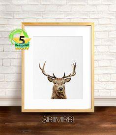 Baby Deer Print Deer Print Nursery Printable Baby Deer