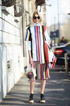 Op deze Zweedse blog vind je de hipste fashion looks die voor je van straat…