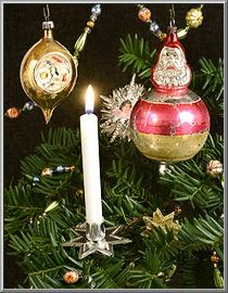 Christmas Shop: Candle Clips, Clip-On Candle Holders from Germany - D. Blumchen