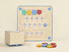 Teaching coding to preschoolers: Cubetto Coding Toy on Kickstarter