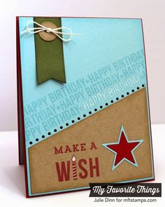 Blueprints 18, Delicious Birthday, Spotlight Sentiments:  Make a Wish Card by Kreative Jewels