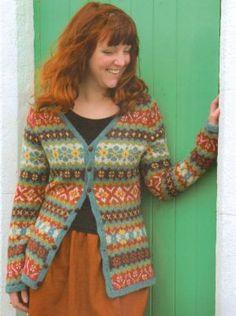Hedgerow - Stranded Knits by Ann Kingstone. Knitting Needles, Hand Knitting, Knitting Patterns, Crochet Patterns, Knit Or Crochet, Diy Projects To Try, Fiber Art, Knits, Scandinavian