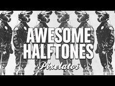 Create Amazing Half Tones - Pro Photoshop Tutorials  | 1080p - YouTube