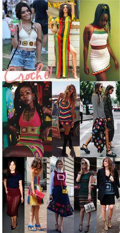 No verão 2017 você vai usar crochê (acredite!) - Fashionismo