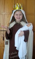 Boys and girls All Saints Day Costumes