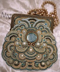 Inspiration:  Haven't even started soutache yet, but if I ever made something 1/2 as pretty as this, I'd be happy.