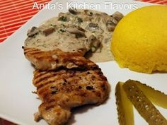 Rețetă Muschi file la gratar in sos cremos de ciuperci, de Kitchen Flavors - Petitchef