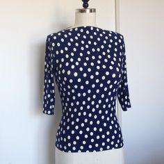 Laura Mae's Spotty blue Gable Top.
