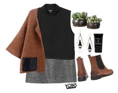 """#Yoins 50"" by credentovideos ❤ liked on Polyvore featuring Monki, Stila, women's clothing, women, female, woman, misses and juniors"