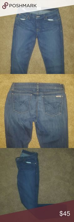 Hudson skinny jeans Gently used great condition! Hudson Jeans Jeans Skinny