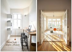 Simple Desks - Minimalist Office