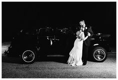 Blacktie wedding with classic vintage car at 108 Budleigh - Photographed by Amanda and Grady Photography