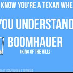 I understand boomhauer...