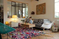 Before/After. Living Room http://www.ritalechat.com/2014/03/deco-precieux-tapis-nouveau-salon/