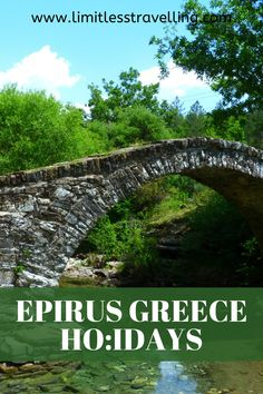 if you are planning to spend your best Epirus Greece Holidays, I've prepared for you the Ultimate 4-day itinerary, developed by local professionals and approved by me | Epirus Mainland Greece | Greece Mainland | winter holidays Greece | Epirus travel guide Winter Destinations, Vacation Destinations, Greece Holidays, International Travel Tips, Holidays Around The World, Europe Travel Guide, Worldwide Travel, London Travel, Greece Travel