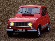 1978 Renault 4 GTL. Mijn ouders hebben er 3 gehad; een beige, een gele en als laatste een rode. Daarvan weet ik zelfs het kenteken nog: 04-XU-60