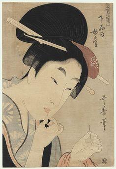 UKIYO - E.........BY UTAMARO  KITAGAWA.......BING IMAGES.....