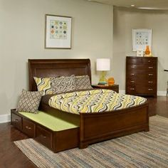 Newport Beach Surfer Girl Sleigh Bed  FULL AND TWIN ONLY