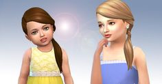 I thought this hair would look cute on girls, so I converted it, I hope you enjoy! Available in default textures, all colors. Availabl...