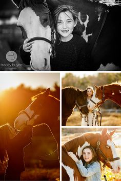 horse photography ideas | girl with horse  | Tracey Buyce Equestrian Photography #equestrian