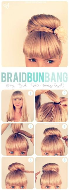 Braid Bun Bang