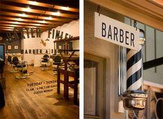 Beautiful barber's shop!