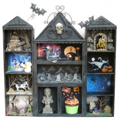 Great idea, love the Nightmare Before Christmas section the best!!!