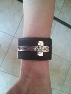 Cross Cuff Bracelet. Secret Jewelry Box on FB