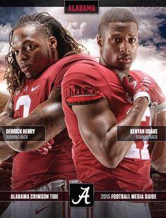 2015 Football Media Guide by Alabama Crimson Tide Fall Football, Crimson Tide Football, Alabama Football, Alabama Crimson Tide, Alabama Athletics, Football Season, American Football, College Football Coaches