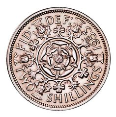 Florin - Old British Coin Denominations Old British Coins, English Coins, Buy Gold And Silver, Foreign Coins, Valuable Coins, Coin Worth, My Childhood Memories, 1970s Childhood, Coin Values