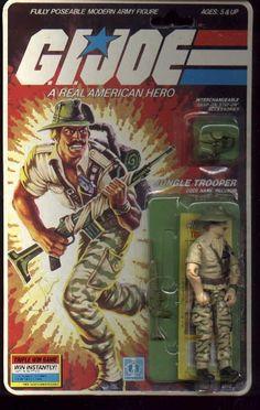 Recondo (v1) G.I. Joe Action Figure - YoJoe Archive