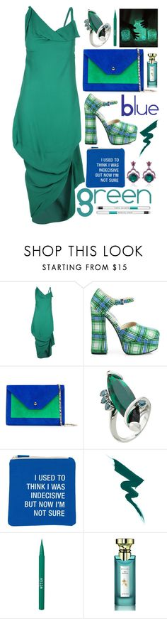 """""""Mostly I wonder? Do you ever wonder about me?"""" by sunnydays4everkh ❤ liked on Polyvore featuring Vivienne Westwood Anglomania, Prada, Casadei, Delfina Delettrez, About Face Designs, Stila, Bulgari and Marc Jacobs"""