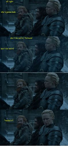 Game of Thrones - Tormund and Brienne