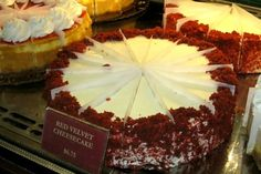 Red Velet Cake at Cears Palace in New Jersey - Love it to die for so so goooooooooood...