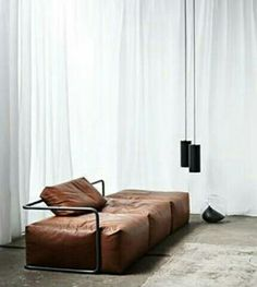 There are a number of kinds of contemporary sofa in the furniture industry. Generally, every sofa design is offered in an assortment of a variety of sizes and configurations to fit your needs. Leather Furniture, Sofa Furniture, Modern Furniture, Furniture Design, Dream Furniture, Leather Sofas, Leather Interior, Furniture Makeover, Office Furniture