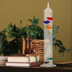 13-inch Glass Galileo Thermometer | AcuRite