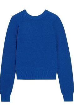 Proenza Schouler - Ribbed Cashmere-blend Sweater - Blue - x small