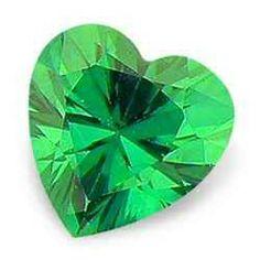 green heart gem