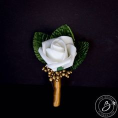 Gold wedding boutonniere, wedding boutonniere, mens wedding boutonniere, prom boutonniere, gold berry wedding boutonnieres, lapel pin by TheBridalFlower on Etsy https://www.etsy.com/listing/572487099/gold-wedding-boutonniere-wedding