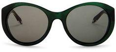 Victoria Beckham Women's Upswept Oval Sunglasses