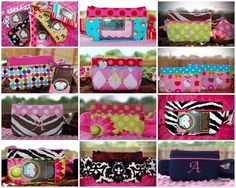 Insulin pump pouches from too sweet boutique...perfect for Brooklynn!